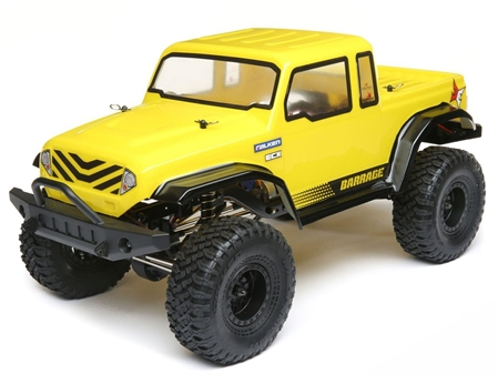 Barrage Gen2 4WD 1.55 Scaler Bd 1:12 RTR In Yellow