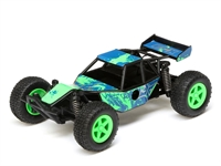 Micro Roost 1/28 2WD RTR Green/Blue