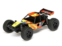 Micro Roost 1/28 2WD RTR Orange/Yellow