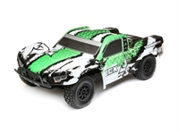 110 4WD Torment Brushed WhiteGreen RTR