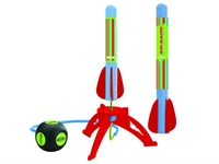 Mini Blaster Air Rocket Launch Set