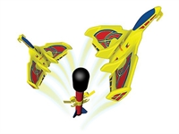 Blast Jets Air Rockets w/Gliders (2) (Rockets only, pad req)