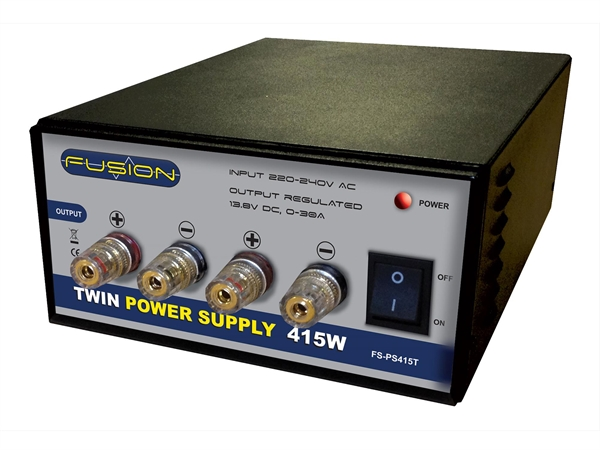 Fusion 415W 13.8V Twin Power Supply