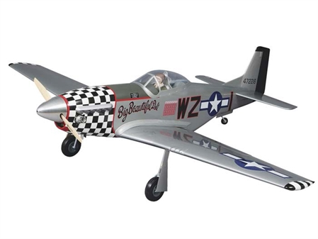 P-51D Mustang ARF - 1/5 Scale - MonoKote