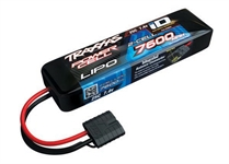 7600mAh 7.4V 2S 25C LiPo ID Battery