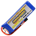 2200mAh 4S 148v 35C LiPo Battery - Overlander Supersport Pro