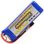 2200mAh 3S 111v 35C LiPo Battery - Overlander Supersport Pro