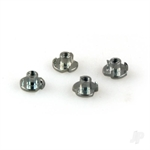 DB133 Blind Nuts 2-56 (4pcs)