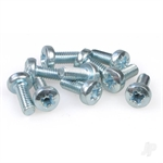 M4x10 Crosshead M/Screw (10pcs)