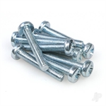M4x25 Crosshead M/Screw (10pcs)