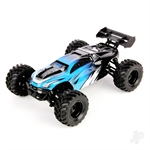 1:18 RTR Electric 4WD Hailstorm Truggy Blue (USB Charger)