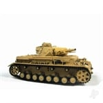 116 German Panzer IV F1 Tank 24GHz+Shooter+Smoke+Sound