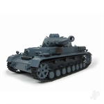 116 German Panzer IV F2 Tank 24GHz+Shooter+Smoke+Sound