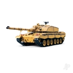 1:16 US M1A2 Abrams (2.4GHz+Shooter+Smoke+Sound)