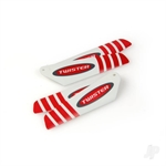 6605105 MICRO TWISTER PRO ROTOR BLADE SET RED