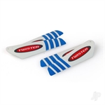 6605110 MICRO TWISTER PRO ROTOR BLADE SET BLUE