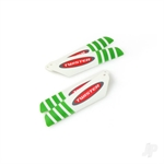6605115 MICRO TWISTER PRO ROTOR BLADE SET GREEN