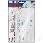 1:1000 Star Trek U.S.S. Reliant NCC-1864 Aztec Decals