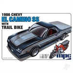 1986 Chevy El Camino SS with Dirt Bike