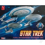 ST Enterprise Set (3n1) NCC1701, 1701A, 1701B