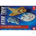 1:2500 Star Trek Cadet Series Deep Space 9 - 3 ship set SNAP