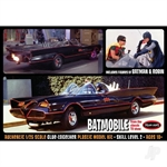 1:25 Batman 1966 Batmobile with Batman and Robin figures