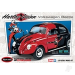 1:24 DC Comics Harley Quinn VW Bettle (Snap Kit)