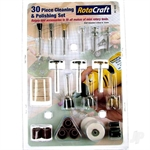 5533223 RC9002 30pc CLEANING amp POLISHING SET
