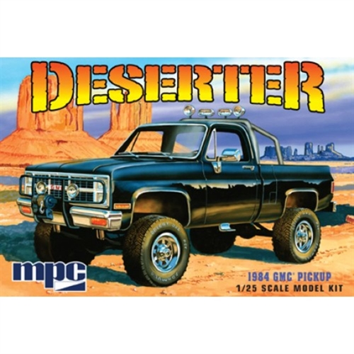 1:25 1984 GMC Pickup (Black)