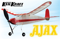 Keil Kraft Ajax Kit 30 Free-Flight Rubber Duration  A-KK2010
