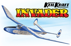 Keil Kraft Invader Kit 245 Free-Flight Towline Glider A-KK1020